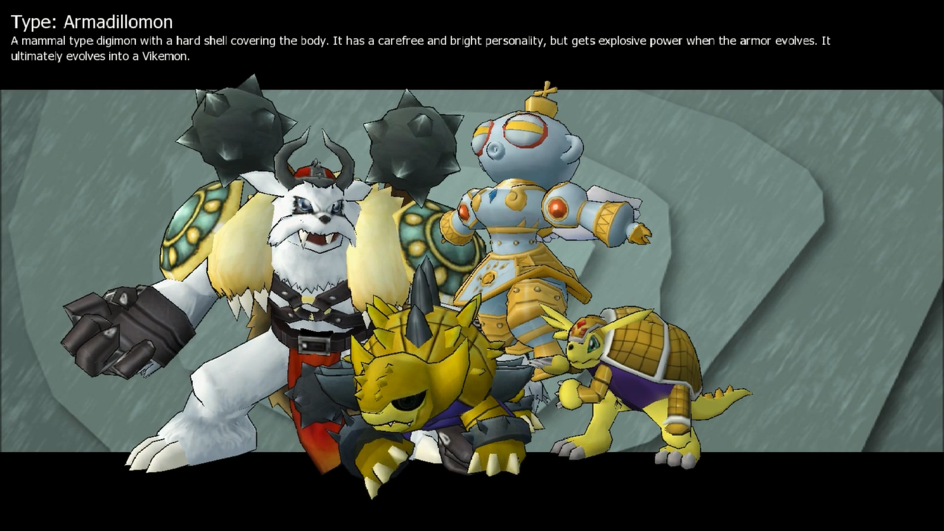 Armadillomon - Digimon Masters Online Wiki - Take a step into the