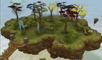 Resource race woodcutting