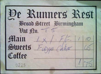 YE RUNNERS REST - THE RESTAURANT WITHIN THE CLUB rum runner broad street wikipedia duran duran