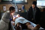 204 - Harper in the Morgue with Nick and Carl Stanton's body