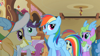 Rainbow Dash &#39;Spike here writes down everything&#39; S2E08