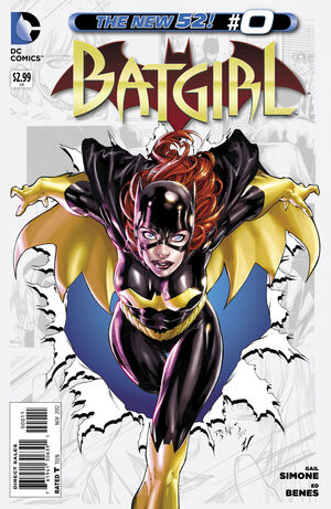 Cover for Batgirl #0