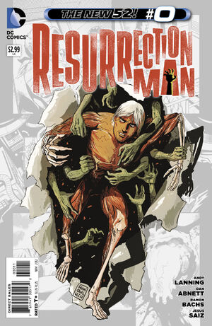 Cover for Resurrection Man #0