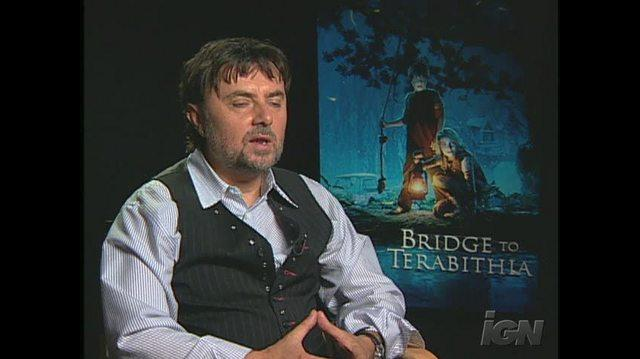 Bridge to Terabithia Movie Interview - GABOR CSUPO