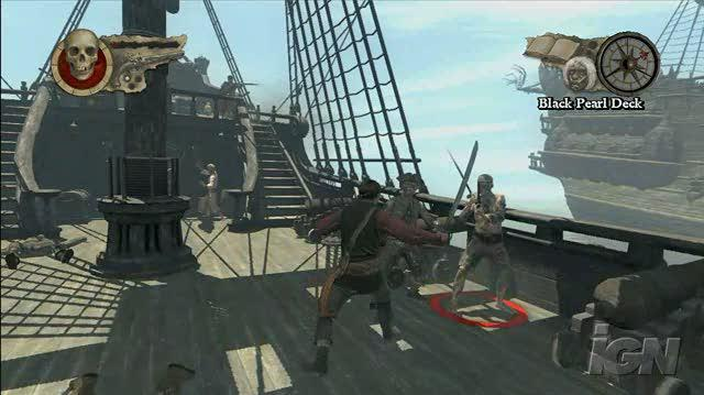Pirates of the Caribbean At World's End Xbox 360 Gameplay - The Mighty Kraken