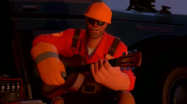 Team Fortress 2 PC Games Trailer - Meet The Engineer (HD)