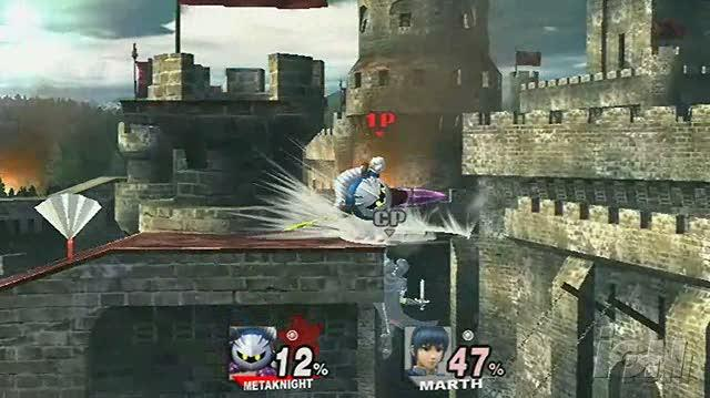 Super Smash Bros. Brawl Nintendo Wii Gameplay - Marth Unlocked (480p)