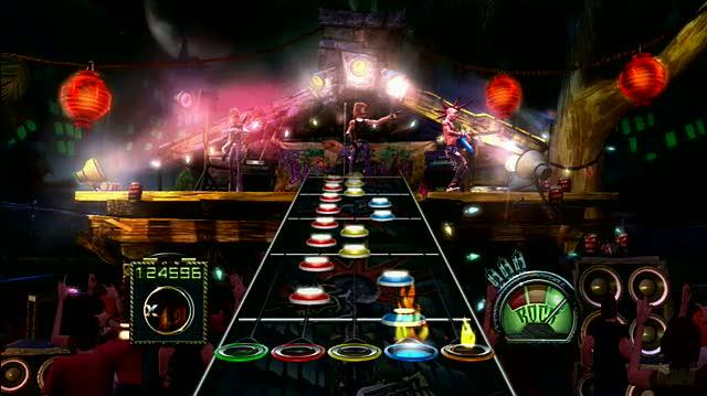 Guitar Hero III Legends of Rock (game only) Xbox Live Gameplay - Operation Ground and Pound