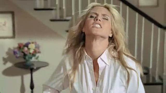 "Guitar Hero World Tour Xbox 360 Clip-Commercial - Heidi Klum ""Risky Business"" TV Spot (Original)"