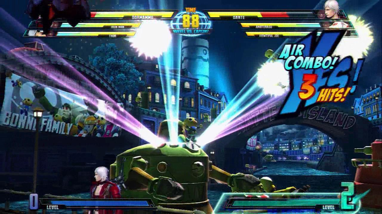 Marvel vs. Capcom 3 Gameplay Video