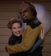 Worf and Maddy Calloway