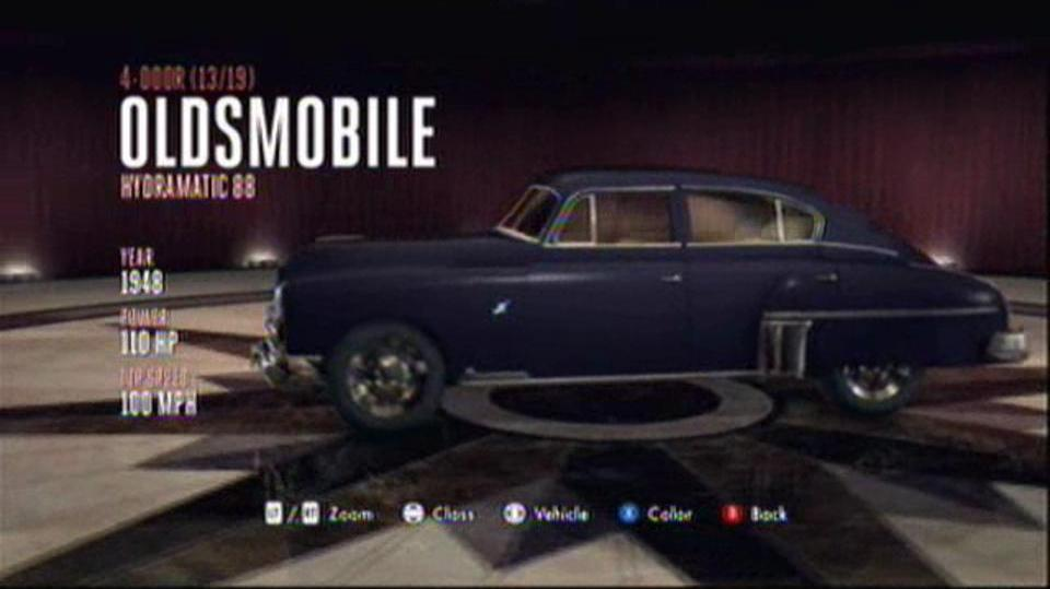 L.A. Noire Hidden Vehicles 4-Door - Oldsmobile Hydramatic 88 - Downtown, Central