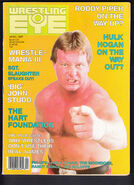 Wrestling Eye - April 1987