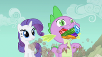 Rarity bit surprised S1E19