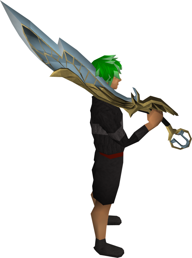 Lucky Armadyl Godsword equipped