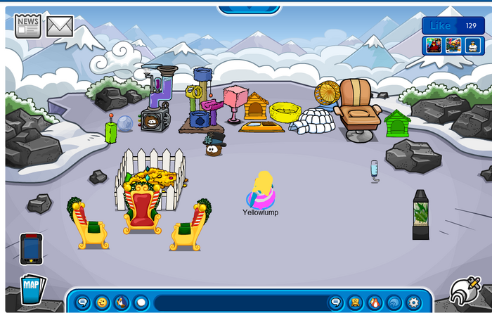 Igloo 1 (Puffle mountain)