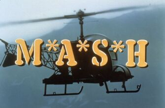 M-A-S-H TV title screen