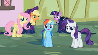 Rarity &amp; Rainbow Dash ok weird S2E8