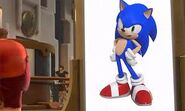 Sonic in Movie