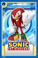 Knuckles Card