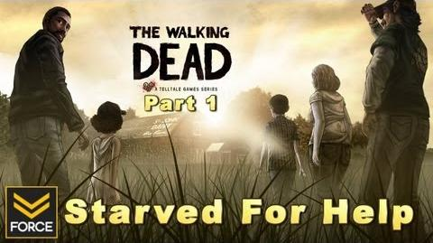 The Walking Dead - Episode 2 Starved For Help PART 1