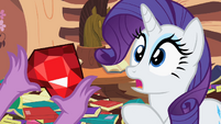 Rarity snapped out S2E10
