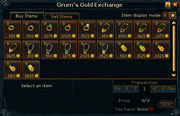 Grum's Gold Exchange stock
