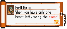 Peril Beam Scroll
