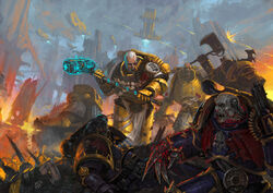 Imperial Fists vs. Chaos