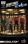 TNG Who issue 1 cover Hastings