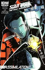 TNG Who issue 4 cover B