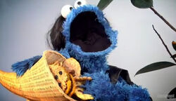 Cookie monster hunger games