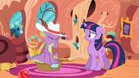 Twilight backing away S2E10