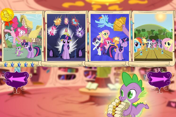 My Little Pony La Magia De La Amistad  Descubre Las Diferencias   My