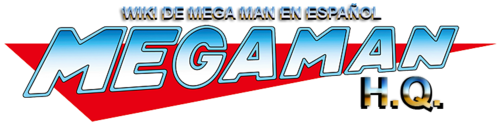 Mega man logo copi