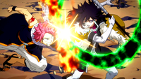 Natsu vs. Midnight