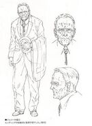 Elderly Johnny Sr concept art
