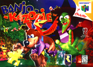 Banjo-Kazooie Boxart (North America)