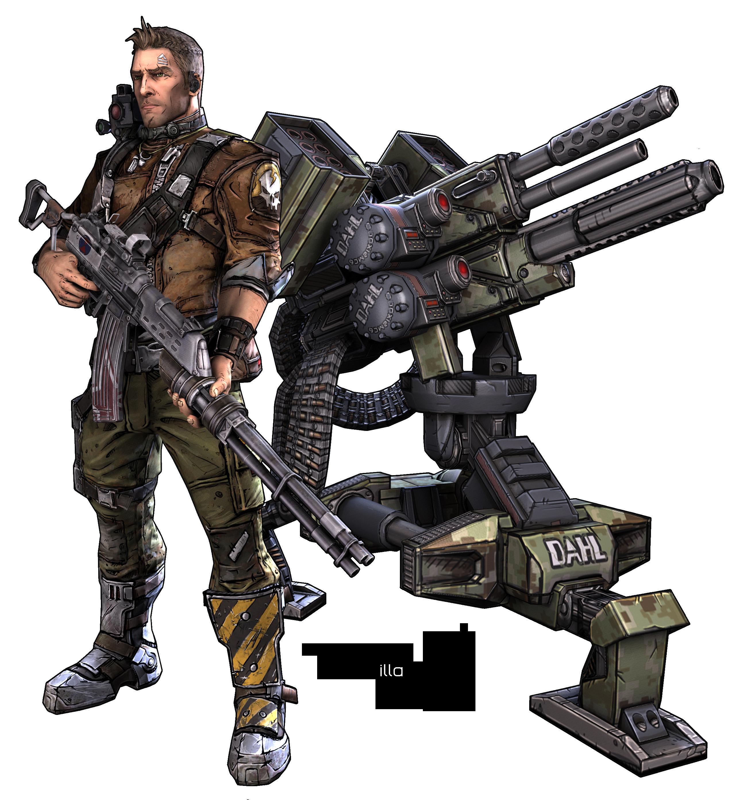 Borderlands  Commando Sabre Turret Build