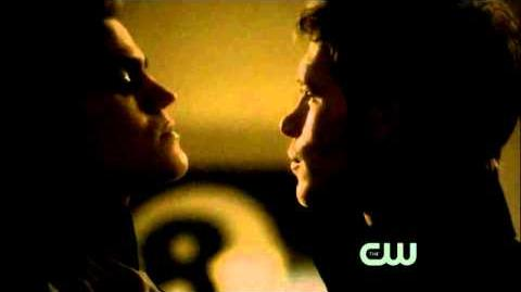 The Vampire Diaries - 2x22 Klaus kills Elijah and makes a deal with Stefan Katherine Scene
