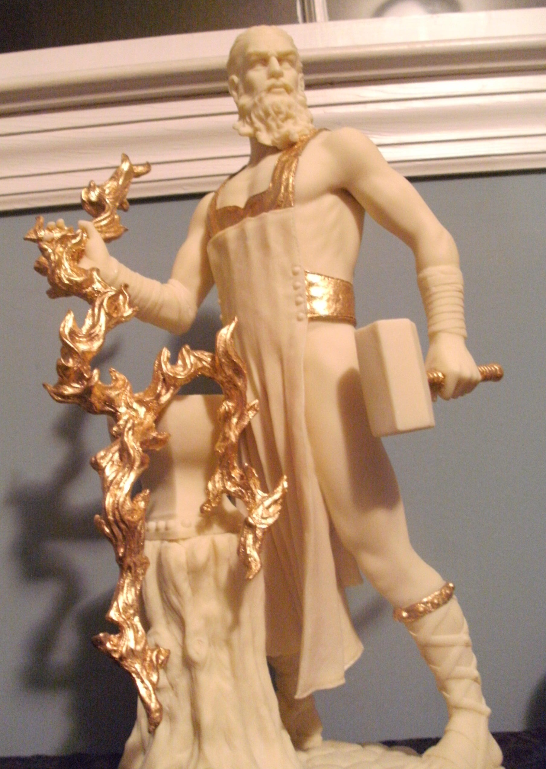 an overview of the myth of hephaestus in greek mythology Greek mythology is the body of myths and teachings that belong to the greek and roman conceptions of myth mythology was at the heart of everyday life in.
