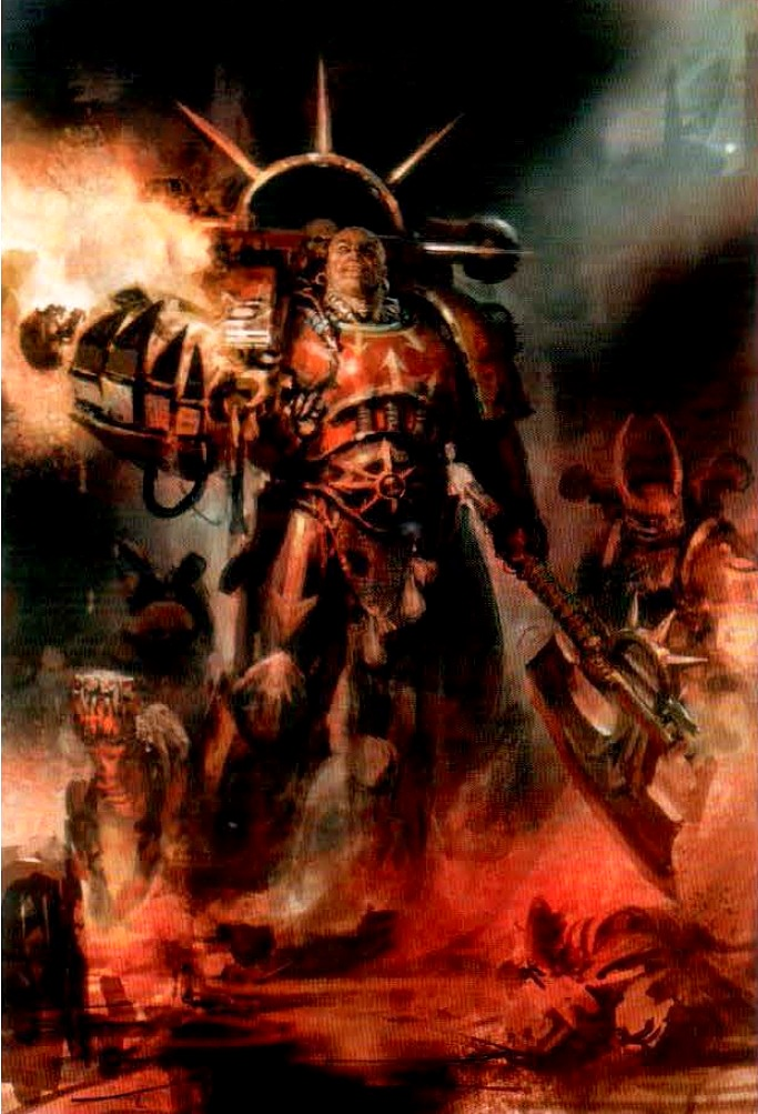 Word Bearers Red Paint