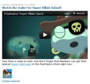 Watch the trailer for Super Villain Island!
