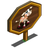 Cherry Blossom Calf Mastery Sign-icon