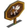 Giant Shark Cow Mastery Sign-icon