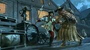 AC III Three Animi Avatars Fighting