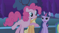 Twilight to Pinkie &#39;Not so fast&#39; S1E02