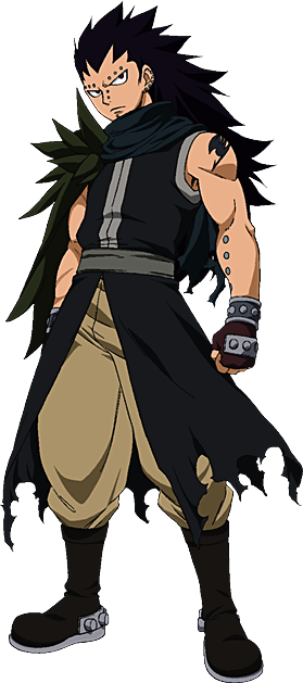 My Character in Fairy Tail  Gajeel_Redfox_GMG
