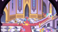 Princess Celestia&#39;s hall S1E26