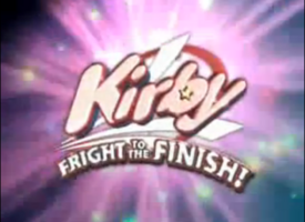 Kirby fright to the finish logo